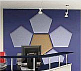 panelsorba acoustic panel pentagon