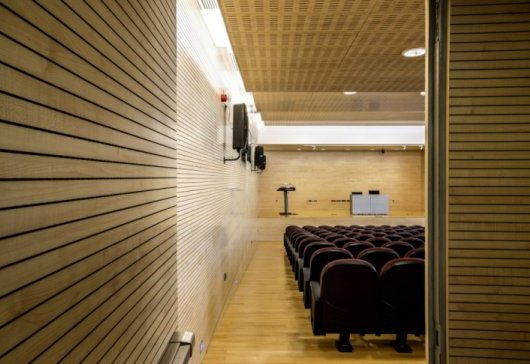 perforated acoustic timber panel systems