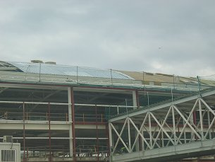 Acoustic Roof on Barcelona Terminal 1