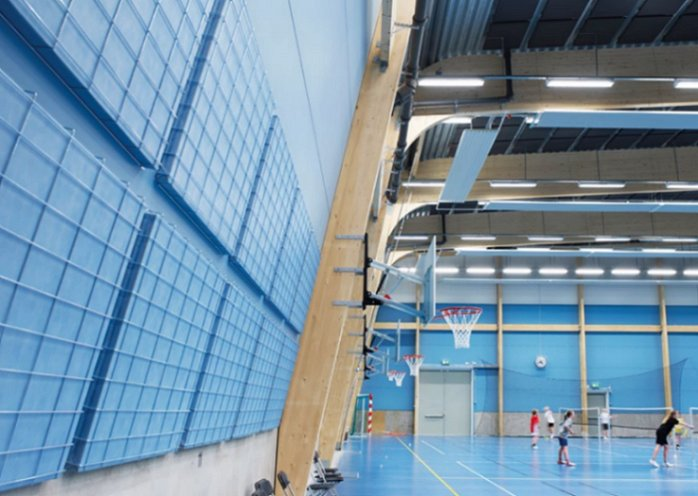 sports panel wired acoustic panels