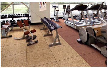 gym flooring acoustic tiles