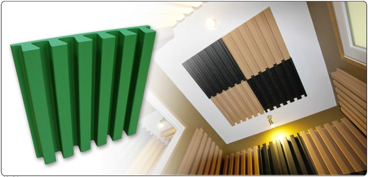 Jocavi Stripefuser Acoustic Diffuser Absorber Panel
