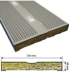 ACOUSTIsON perforated steel Acoustic Panel Systems