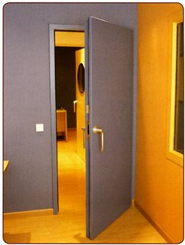 Soundproofing Steel Acoustic Doors RS6 - 38 and 47dB